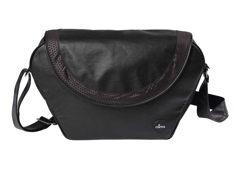 MIMA - Přebalovací taška Trendy Flair černá