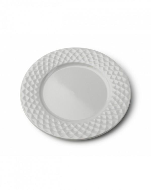 MONDEX - Talíř dezertní Diamond Grey 20,5