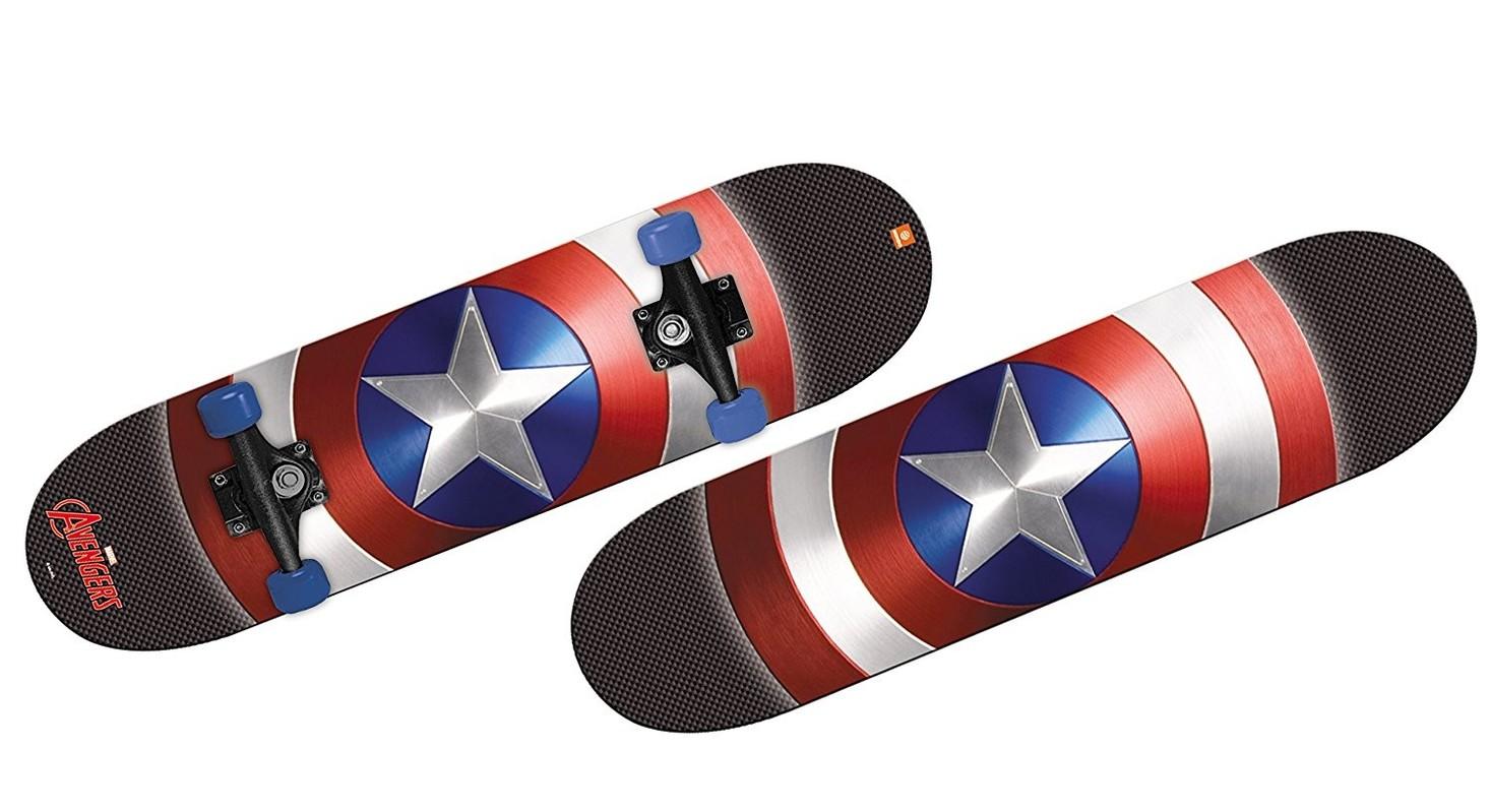 MONDO - 28099 Skateboard Captain America