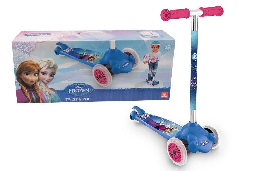 MONDO - koloběžka Twist & Roll Frozen 28300