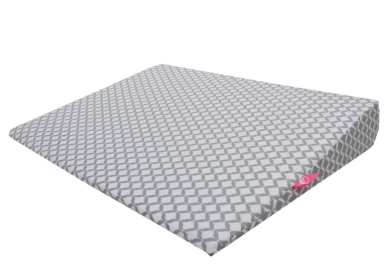 MOTHERHOOD - Polštář klín Grey Classics 60x45cm, 0-6m
