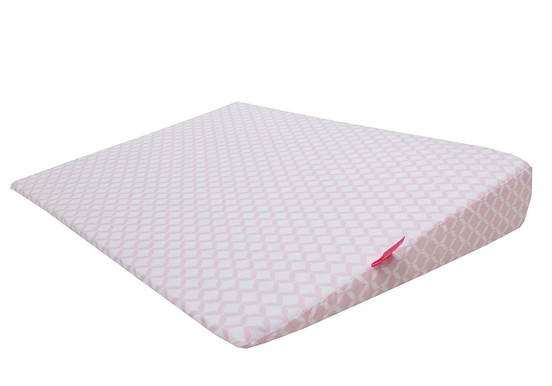MOTHERHOOD - Polštář klín Pink Classics 60x45cm, 0-6m