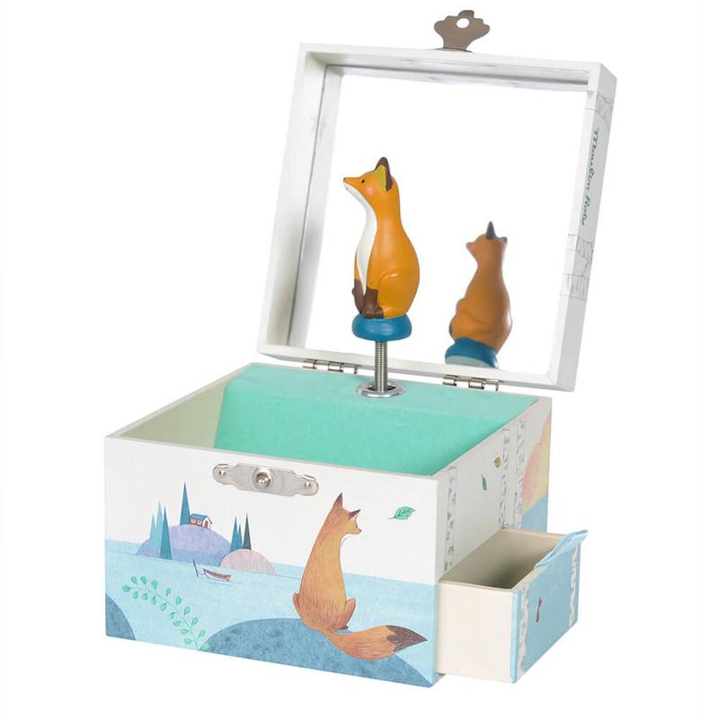 MOULIN ROTY - Hrací skříňka Liška