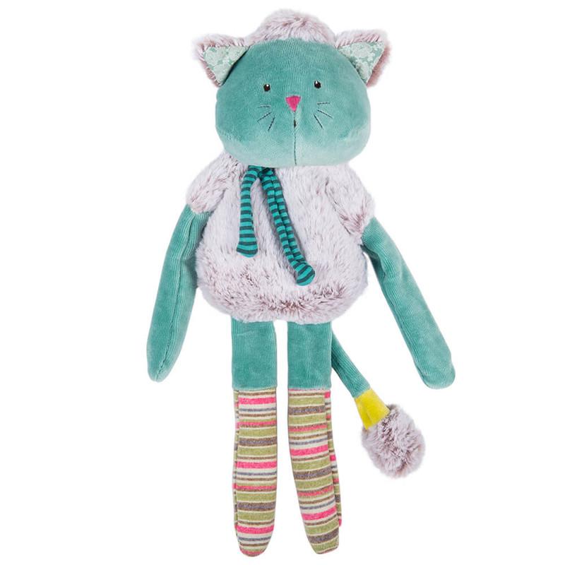 MOULIN ROTY - Kočka velká tyrkysová
