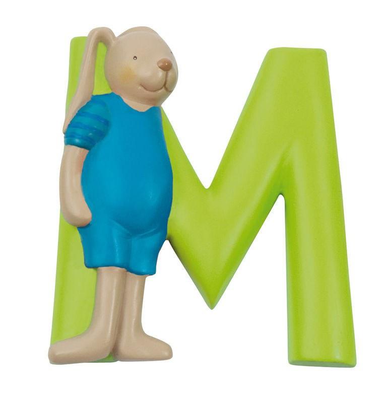 MOULIN ROTY - Písmeno M zelené