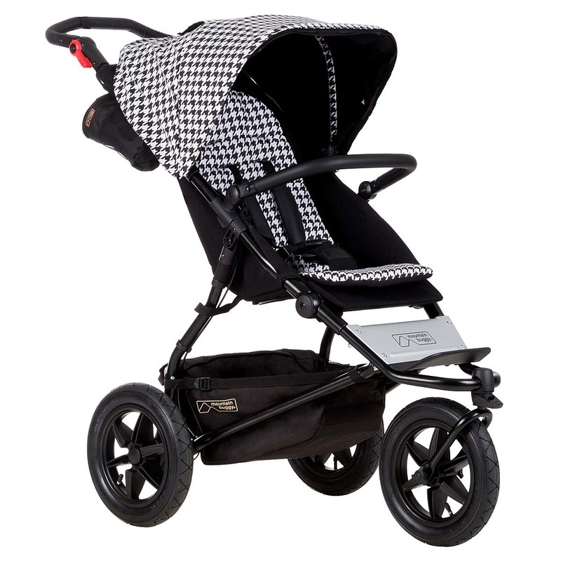 MOUNTAIN BUGGY - Kočárek Mountain Buggy Urban Jungle V3 - Luxury edition Pepita