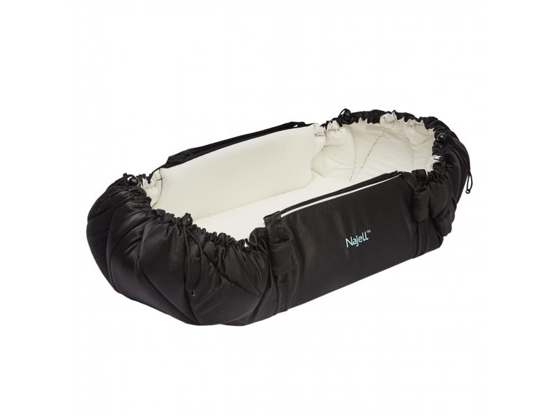 NAJELL - Nosítko na spaní 4v1 SleepCarrier černé