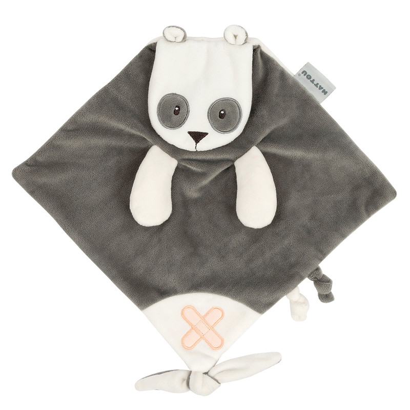 NATTOU - Hračka mazlíček Buddiezzz panda