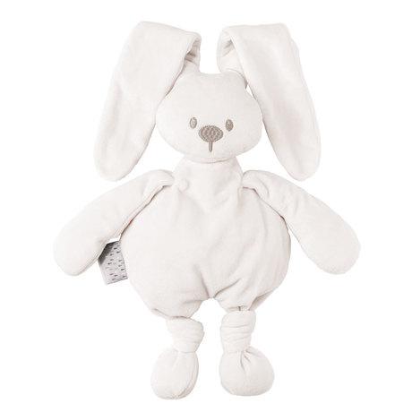 NATTOU - Hračka plyšová zajíček Lapidou cuddly white 36cm