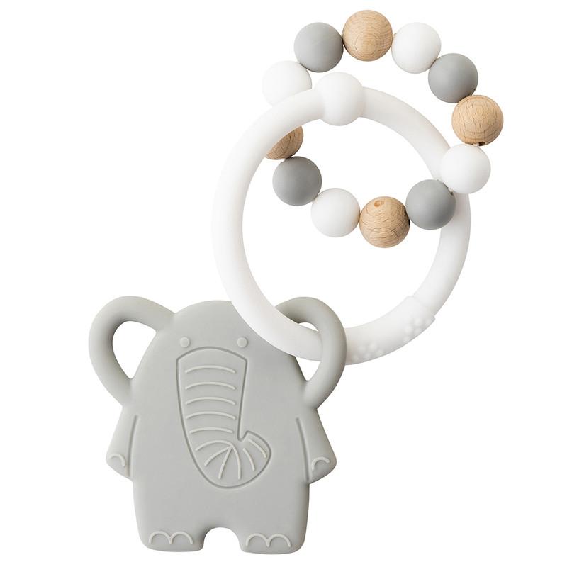 NATTOU - Kousátko silikonové Lapidou sloník