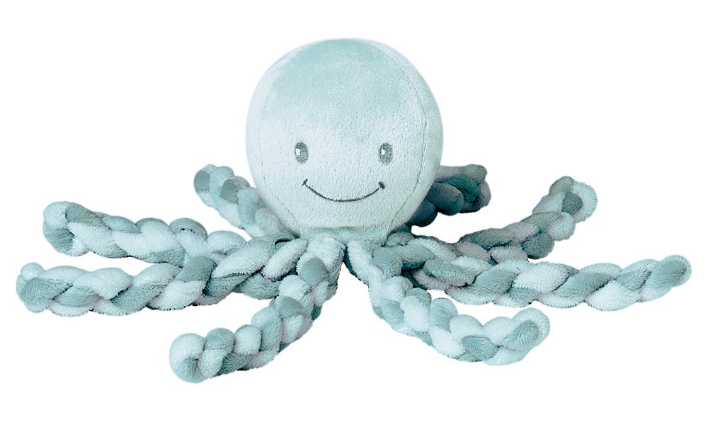 NATTOU - První hračka miminka chobotnička PIU PIU Lapide mint 0m +