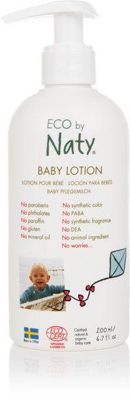 NATY NATURE BABYCARE - Mléko dětské tělové 200ml Naty Nature Babycare