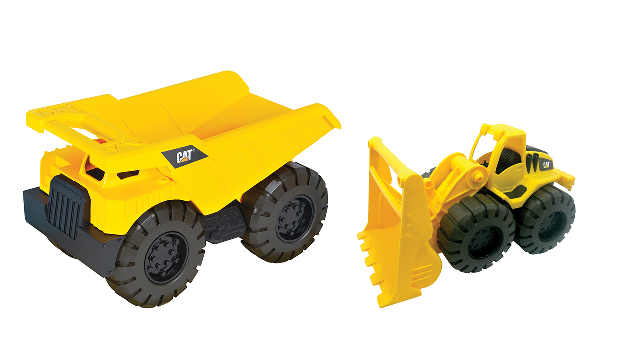 NIKKO - CAT Nákladní auto s nakladačem