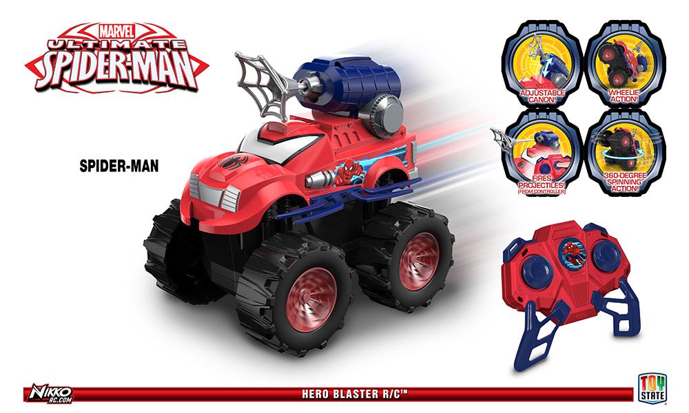 NIKKO - RC MARVEL HERO blaster Spider-Man