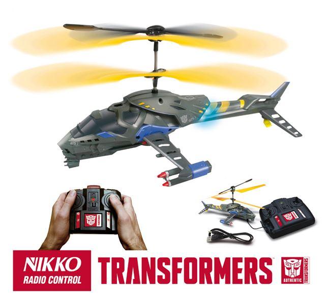 NIKKO - Transformers Helicopter na dálkové ovládání