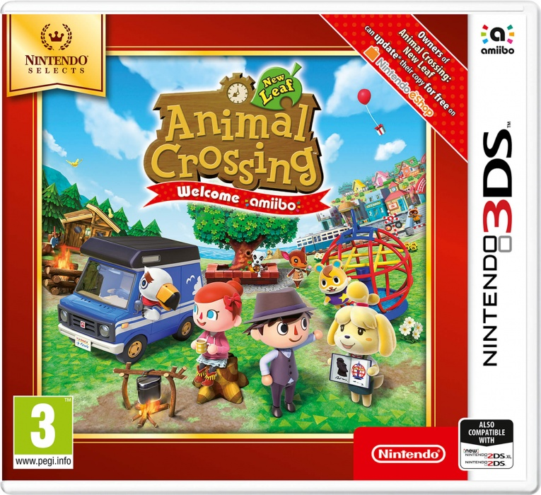 NINTENDO - 3DS Animal Crossing New Leaf-Welcome amiibo Select