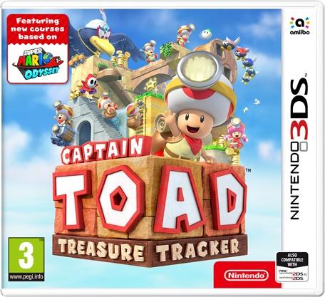 NINTENDO - 3DS Captain Toad: Treasure Tracker