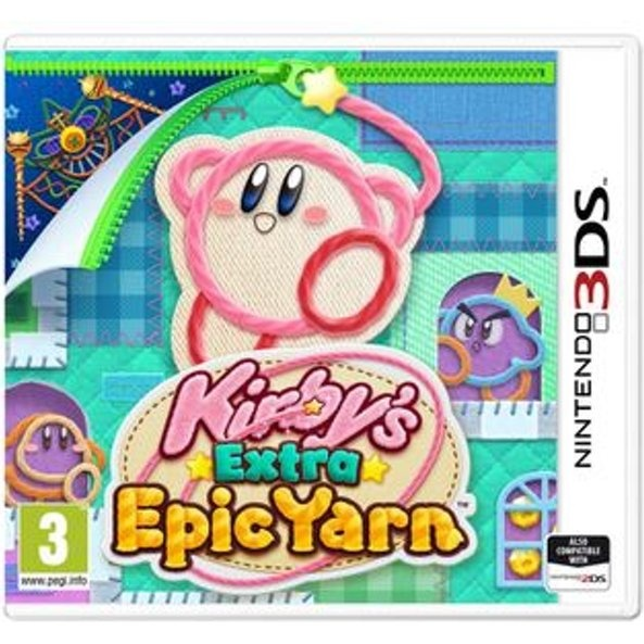 NINTENDO - 3DS Kirby\'s Extra Epic Yarn