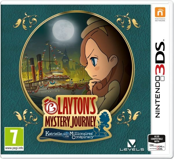 NINTENDO - 3DS Layton\'s Mystery Journey
