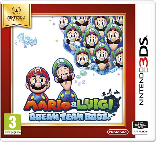 NINTENDO - 3DS Mario & Luigi: Dream Team Bros. Select