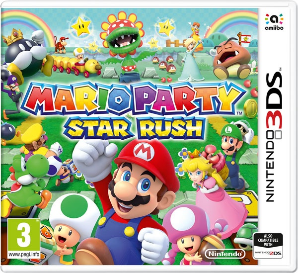 NINTENDO - 3DS Mario Party: Star Rush