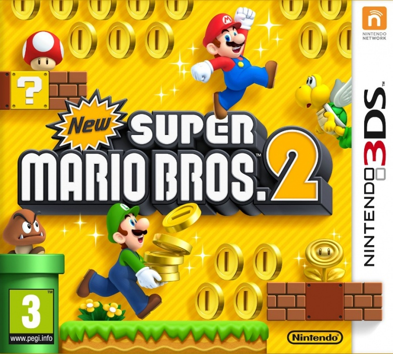 NINTENDO - 3DS New Super Mario Bros. 2