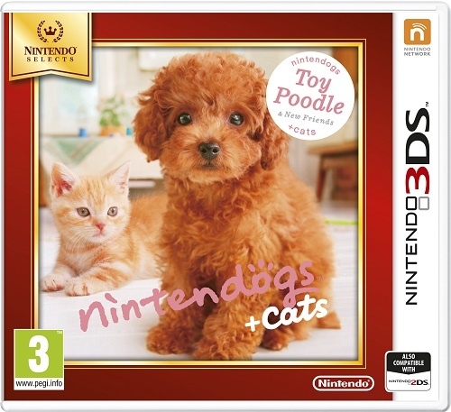 NINTENDO - 3DS Nintendogs+Cats-Toy Poodle &new Friends Select