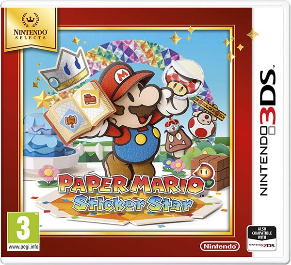 NINTENDO - 3DS Paper Mario: Sticker Star Select