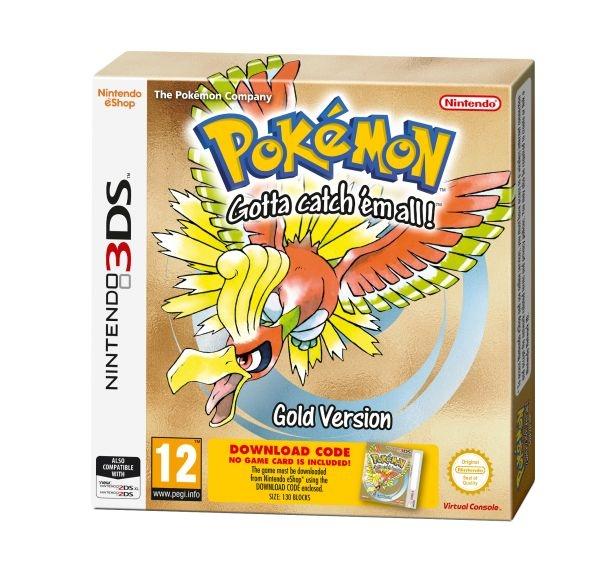 NINTENDO - 3DS Pokémon Gold DCC