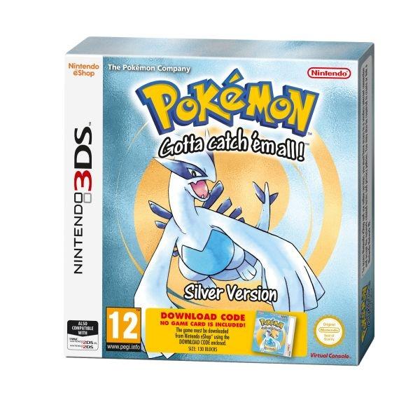 NINTENDO - 3DS Pokémon Silver DCC