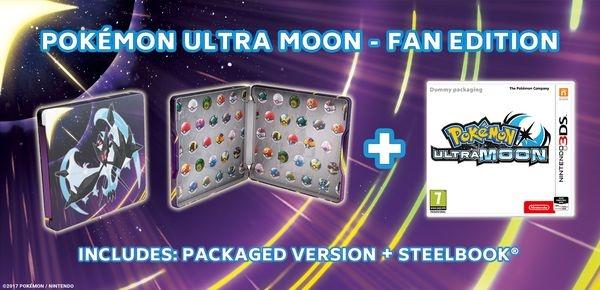 NINTENDO - 3DS Pokémon Ultra Moon Steelbook Edition