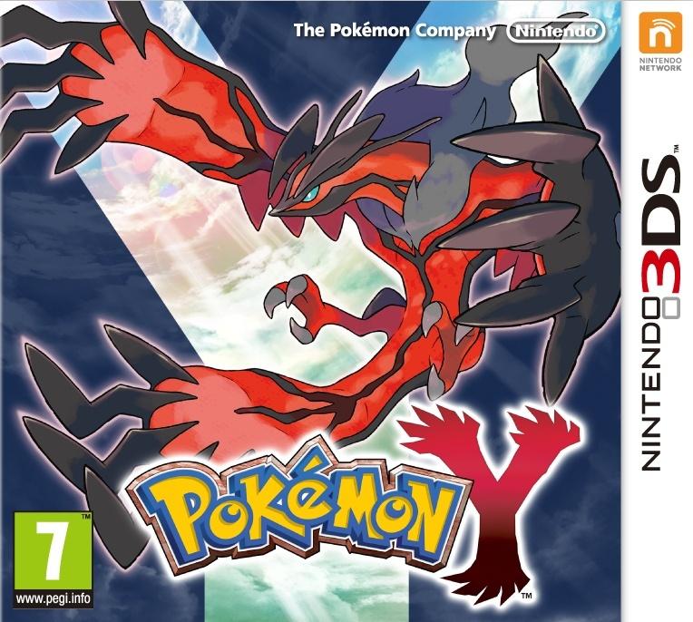 NINTENDO - 3DS Pokemon Y, hra na konzoli Nintendo 3DS