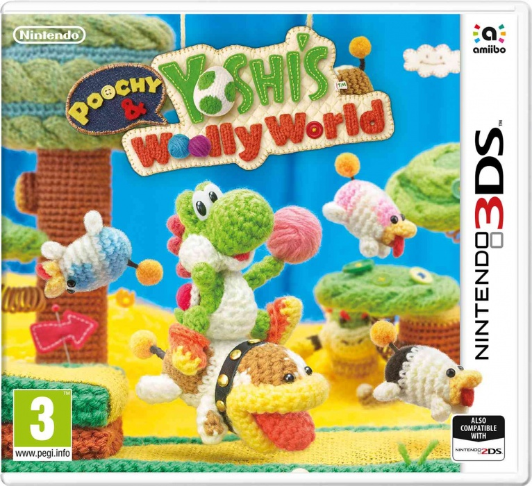 NINTENDO - 3DS Poochy & Yoshi\'s Woolly World