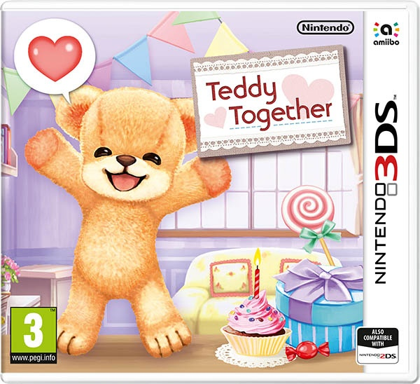NINTENDO - 3DS Teddy Together