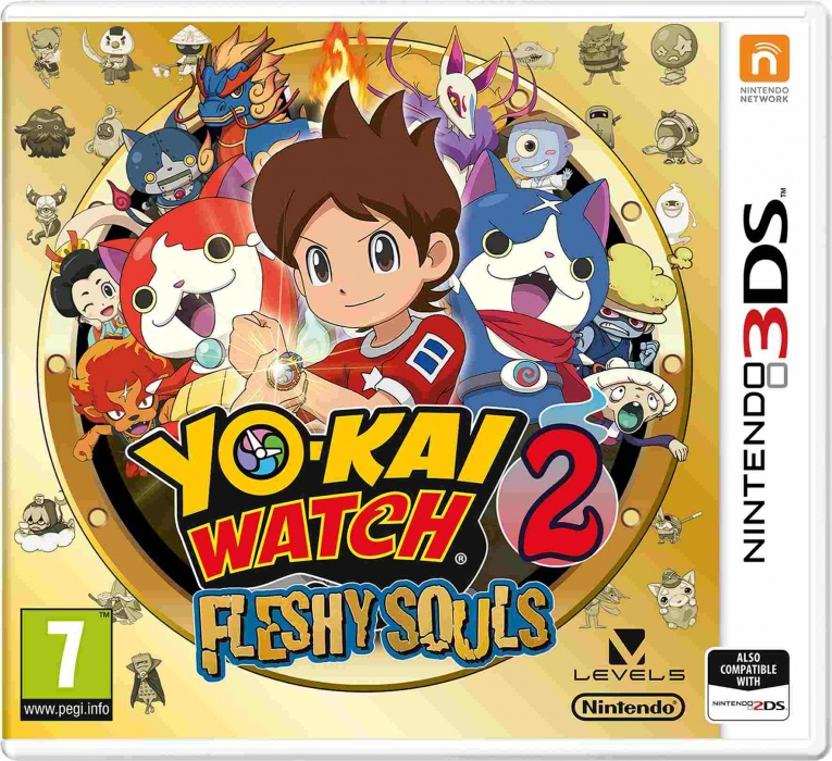 NINTENDO - 3DS YO-KAI WATCH 2: Fleshy Souls