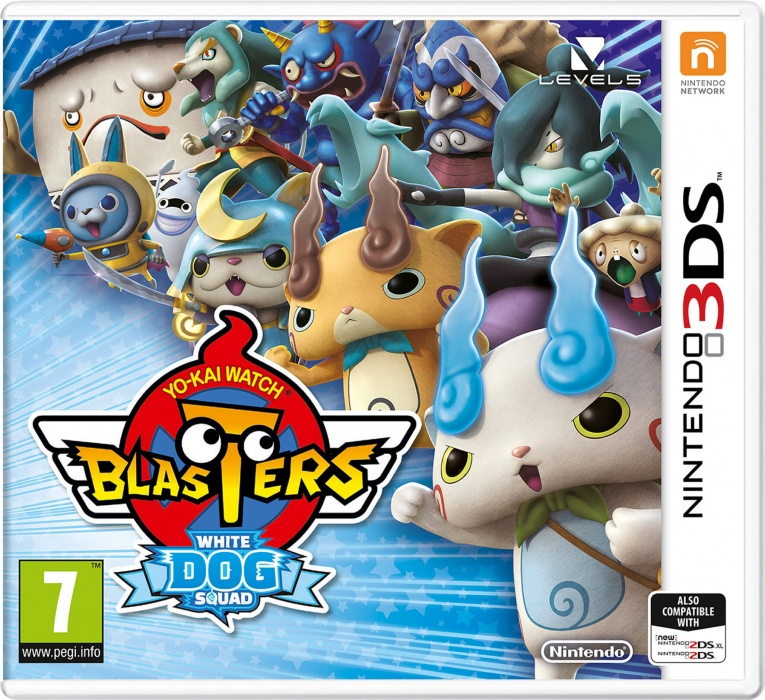NINTENDO - 3DS YO-KAI WATCH Blasters White Dog