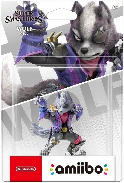 NINTENDO - amiibo Smash Wolf 65