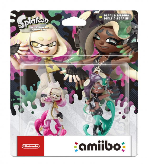 NINTENDO - amiibo Splatoon 2 - Off the Hook set