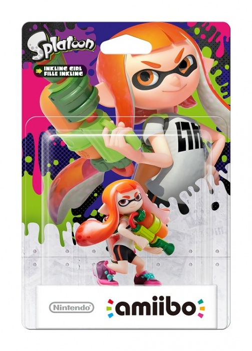 NINTENDO - amiibo Splatoon Girl