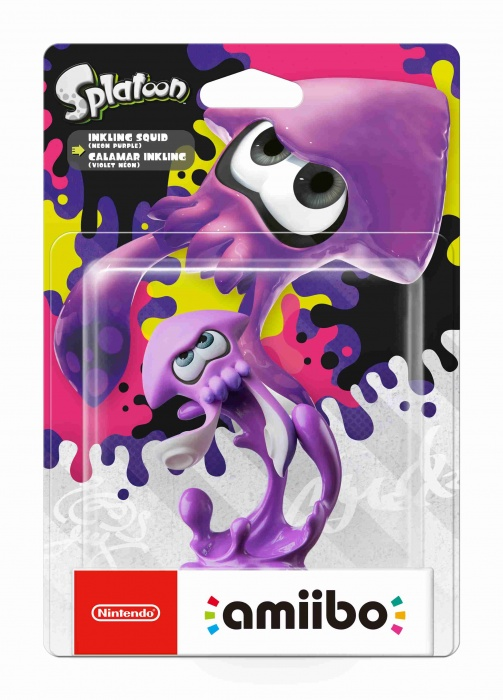 NINTENDO - amiibo Splatoon - Inkling Squid