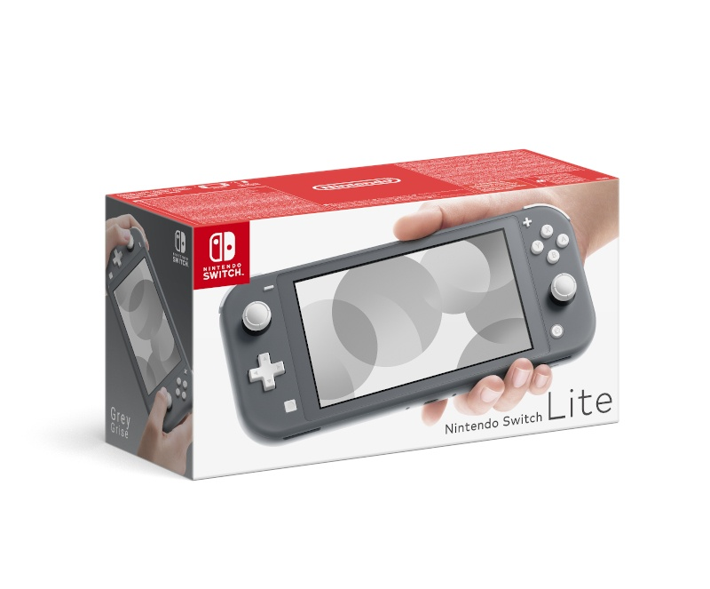 NINTENDO - Nintendo Switch Lite Grey, Konzole Nintendo Switch Lite