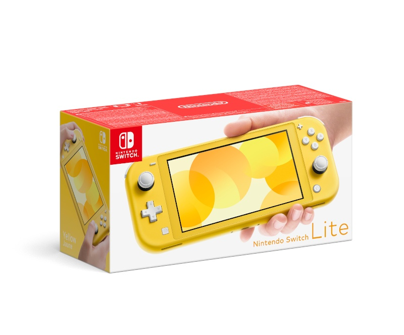 NINTENDO - Nintendo Switch Lite Yellow, Konzole Nintendo Switch Lite