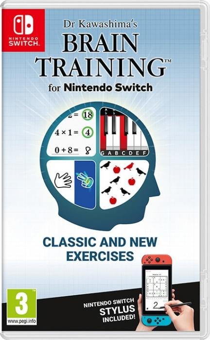 NINTENDO - SWITCH Dr Kawashima\'s Brain Training, Logická hra pro Nintendo Switch