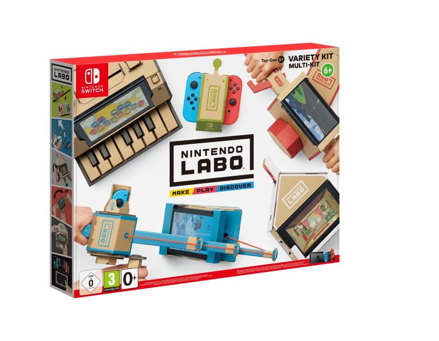NINTENDO - SWITCH Nintendo Labo Variety Kit