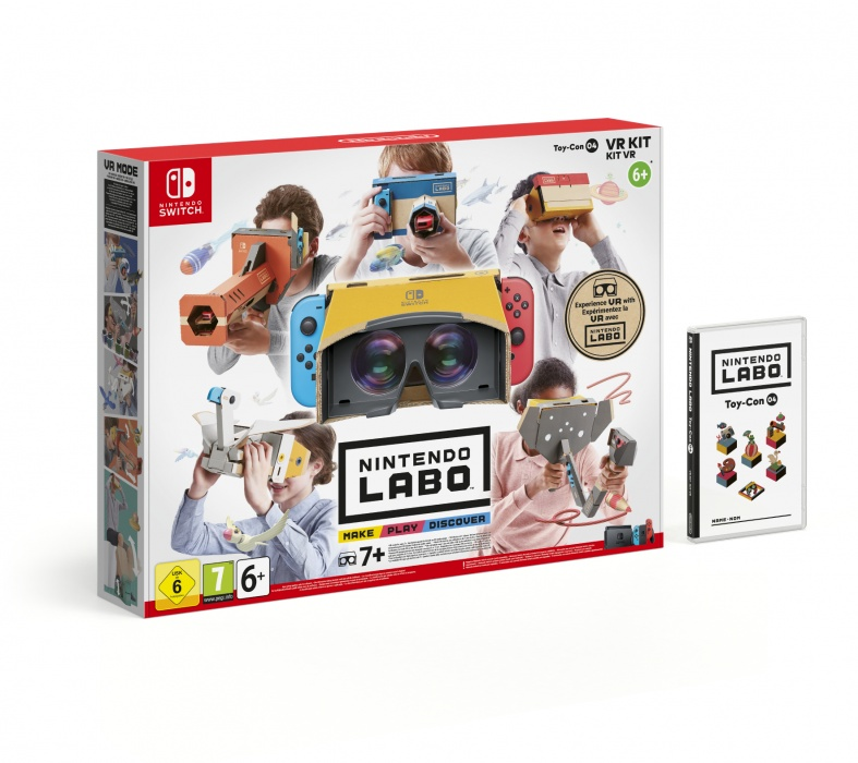 NINTENDO - SWITCH Nintendo Labo VR Kit