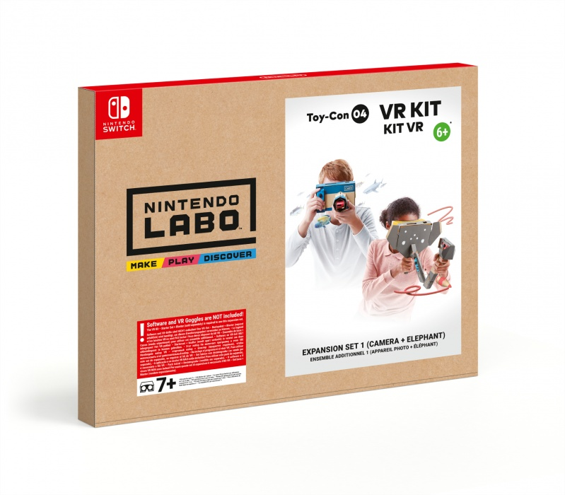 NINTENDO - SWITCH Nintendo Labo VR Kit - Expansion Set 1