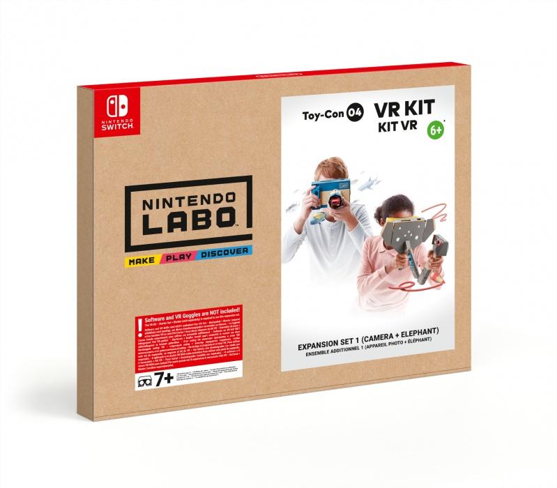 NINTENDO - SWITCH Nintendo Labo VR Kit - Expansion Set 1