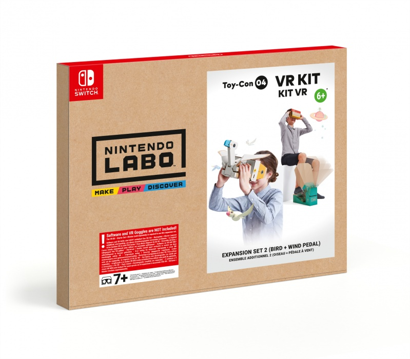 NINTENDO - SWITCH Nintendo Labo VR Kit - Expansion Set 2