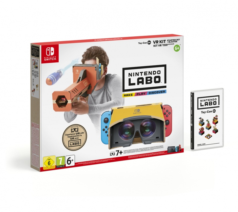 NINTENDO - SWITCH Nintendo Labo VR Kit - Starter Set+Blaster