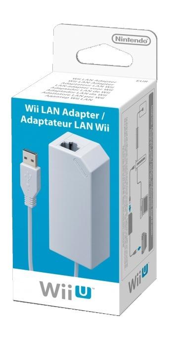 NINTENDO - Wii U LAN Adapter, Síťový LAN adaptér pro Wii U